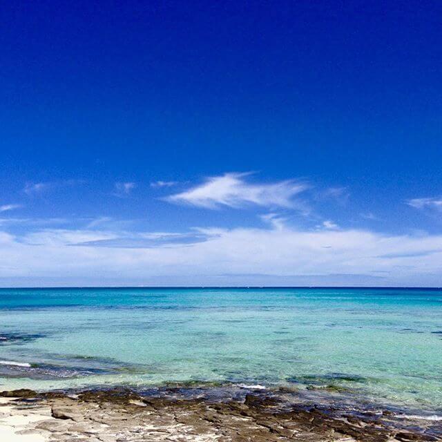 I really wanna go to South!!!南に行きたいにゃー(´ - `).。oO#沖縄 #離島 #海 #beach