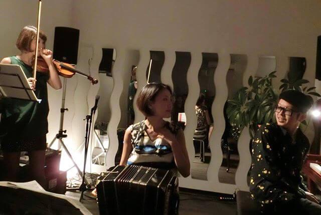 うぷぷ️すごくすごく楽しかったTrioでしたどうもありがとうございました!!!#ヴァイオリン #ピアノ #タンゴ #Tango #bandoneón #コンサート #プライベート