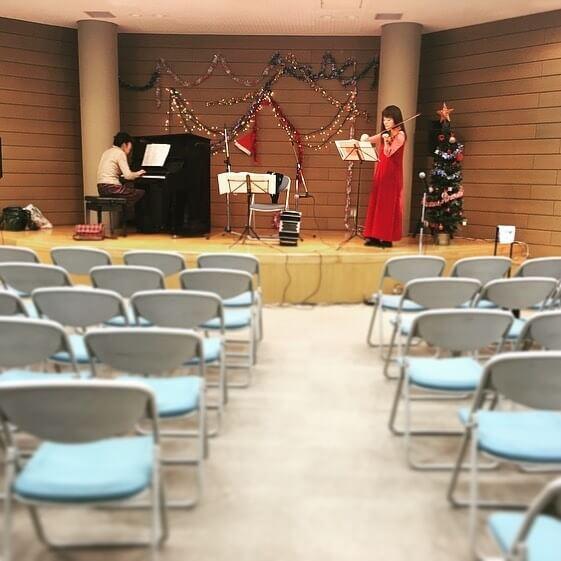 お疲れ様でした!Merry Christmas90名を越えるお客様がお越し下さったそうどうもありがとうございました!#千葉 #タンゴ #コンサート #ピアノ #ヴァイオリン