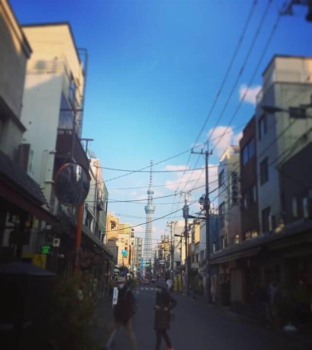 アッチから見たスカイツリー🤔コッチから見たスカイツリー🤔新たな見聞が広がる3月です…….!#浅草 #スカイツリー #下町 #台東区 #散歩 #ウォーキング