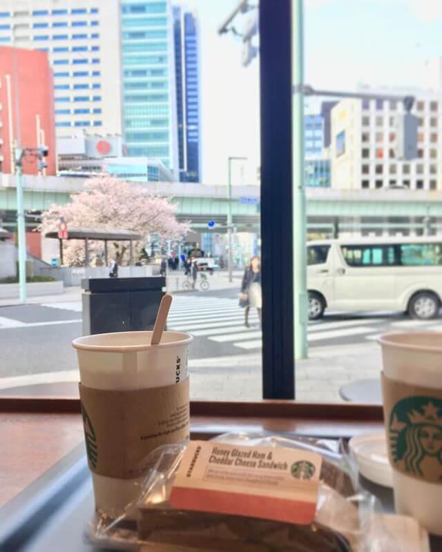 今日は朝から晩まで色々。昨日と打って変わって ちょっと風が冷たい頑張ります(๑•̀ㅂ•́)و✧#桜 #春 #朝 #東京 #Tokyo
