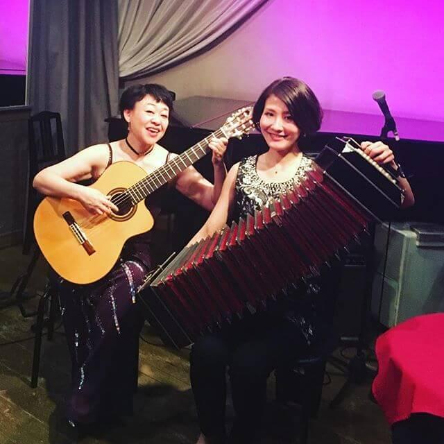 銀座 月夜の仔猫4/23。長浜奈津子さんと楽曲で世界を旅しました#銀座 #月夜の仔猫 #タンゴ #バンドネオン #シャンソニエ